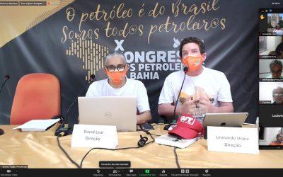 Petroleiros (as) da Bahia encerram congresso com o compromisso de intensificar luta em defesa da democracia, da Petrobrás e dos direitos da categoria