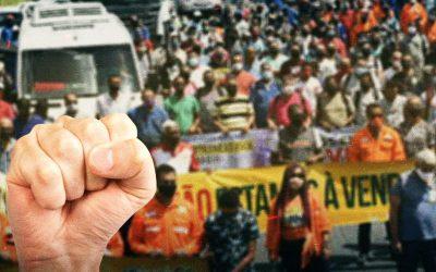 É hora de ocupar as ruas e fortalecer os sindicatos, afirmam palestrantes em debate que antecede o X Congresso dos petroleiros da Bahia