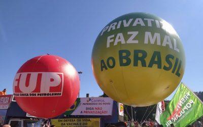 Atos Fora Bolsonaro marcarão 68 anos da Petrobrás, com protestos contra a privatização e os preços abusivos dos combustíveis