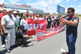 Ato contra privatização no Senai/ Cimatec 27/01