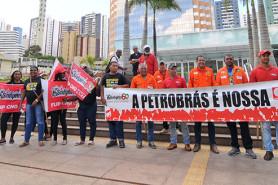 Ato no EDIBA contra retirada de direitos (30/11)
