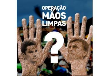 Caiu a máscara da Lava Jato: Moro vira ministro de Bolsonaro