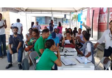 Feira da Solidariedade promovida pelo Sindipetro Bahia cadastra quase 300 doadores de medula óssea
