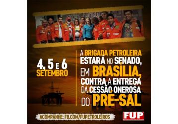 Brigada Petroleira volta à Brasília