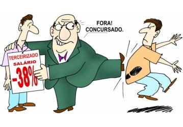 Terceirização irrestrita coloca em risco concurso público, alertam especialistas