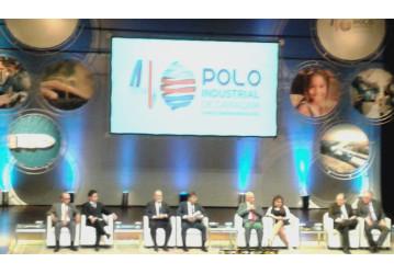 Sindipetro Bahia marca presença em evento que comemora 40 anos do Polo Industrial