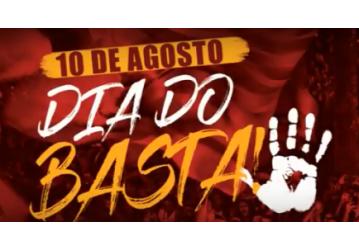 Vagner Freitas convoca classe trabalhadora para o Dia do Basta