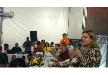FUP e Sindipetro Bahia participam do lançamento da coleção