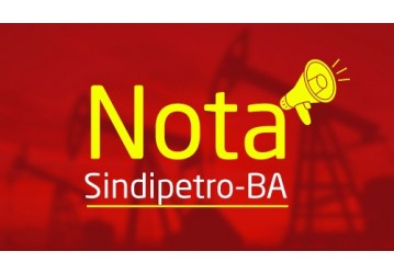 Nota Sindipetro-BA em apoio ao SENGE