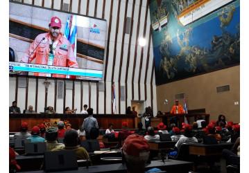 Sindipetro Bahia participa de sessão especial na ALBA em memória às vítimas de Eldorado dos Carajás