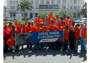 No Dia Nacional de Luta em Defesa da Petrobrás, Sindipetro Bahia realiza ato nas ruas e recebe apoio da sociedade