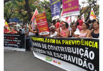 Sindipetro participa de Ato em Defesa da Previdência Pública, nesta quarta (20)