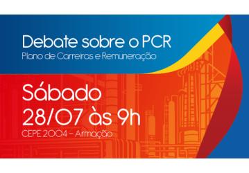 PCR é tema de debate realizado pelo Sindipetro Bahia neste sábado, 28
