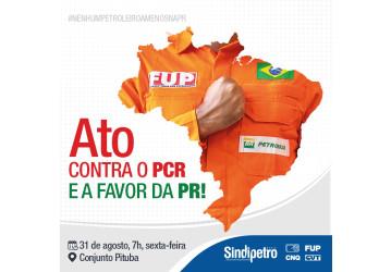 Petroleiros realizam atos na sexta contra discriminações e retirada de direitos