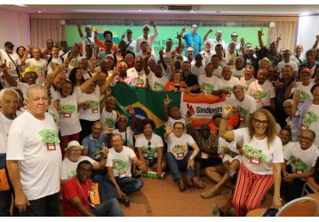 A ordem é defender o Sistema Petrobrás, os direitos da categoria e a liberdade sindical, decidem petroleiros da Bahia em seu 8º Congresso