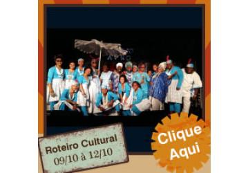 Roteiro Cultural 09/10 a 12/10