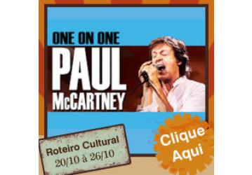 Roteiro Cultural 20 a 26 de outubro