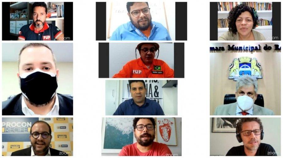 Audiência Pública debate privatização da Refinaria Abreu e Lima na Câmara Municipal de Recife