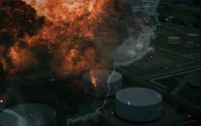 Explosão na Unidade 38 da RLAM faz voar pelos ares andaimes, tubulações e válvulas
